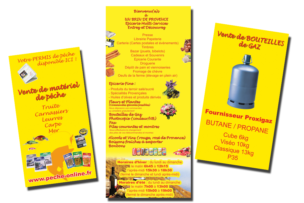 Création de flyers pas cher dans le var sur Toulon