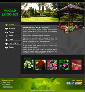 Site pour paysagiste
