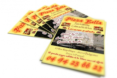 flyer pizza bella blegentier