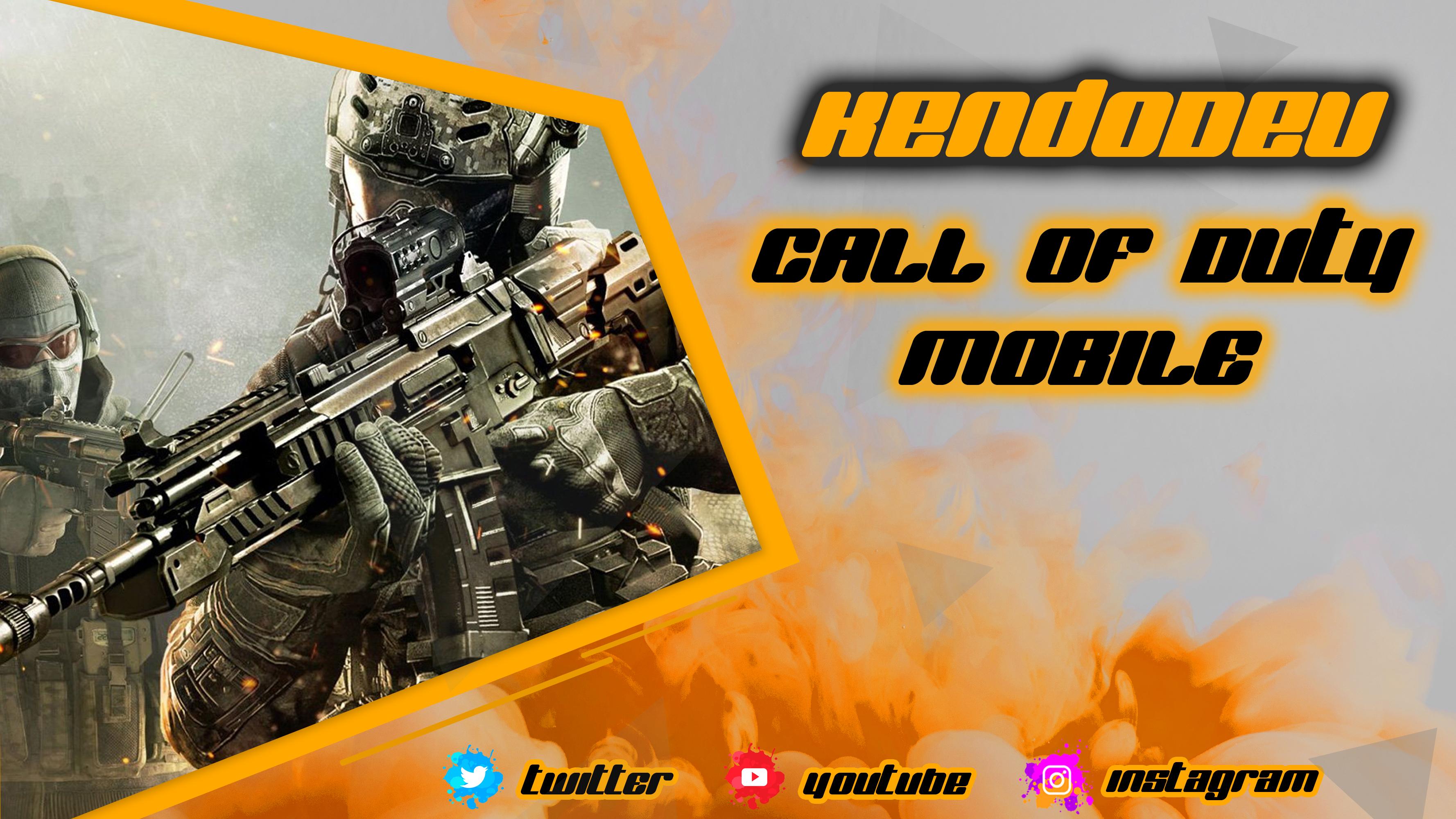Bannière Call Of Duty Mobile à télécharger GRATUITEMENT !