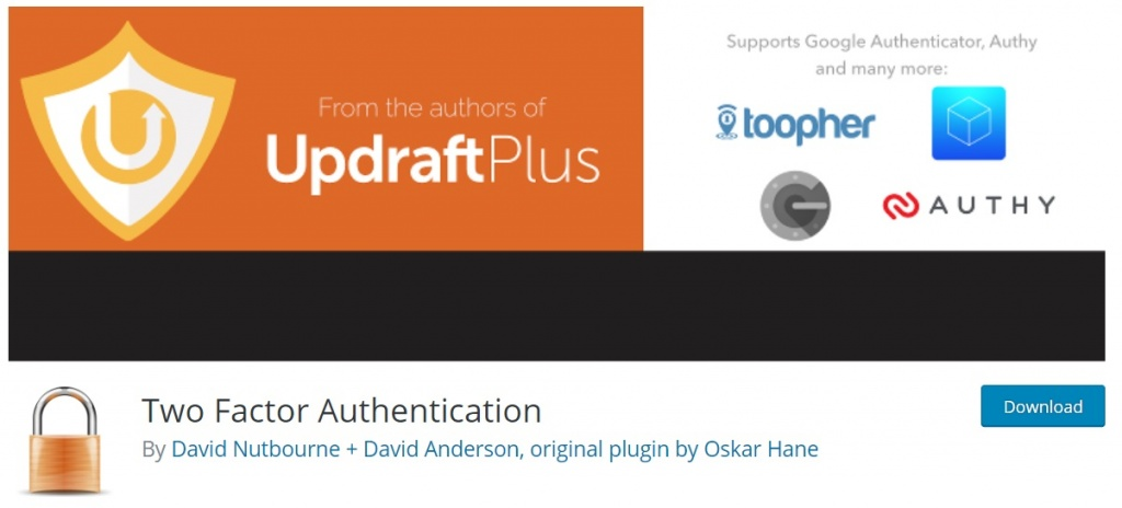 double authentification wordpress