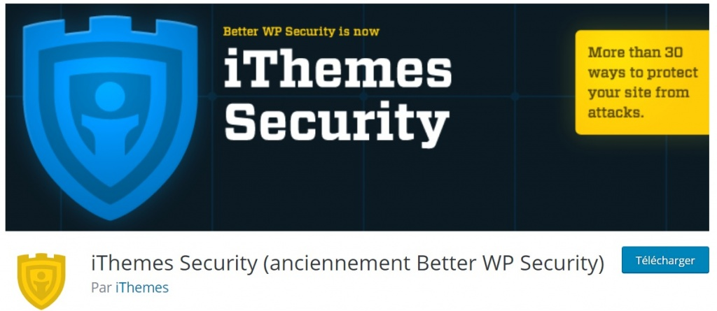 securiser son site WordPress Ithemes security