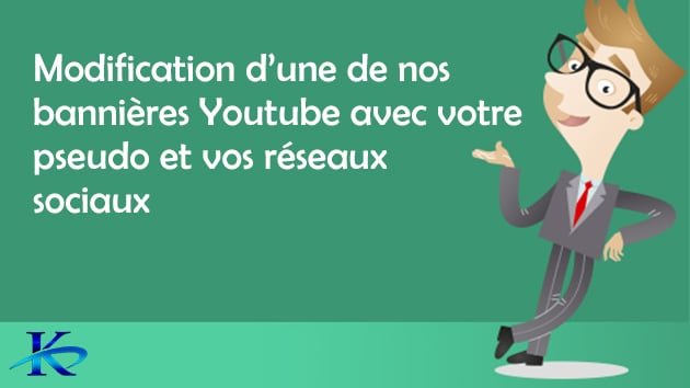 personnalisation bannière youtube